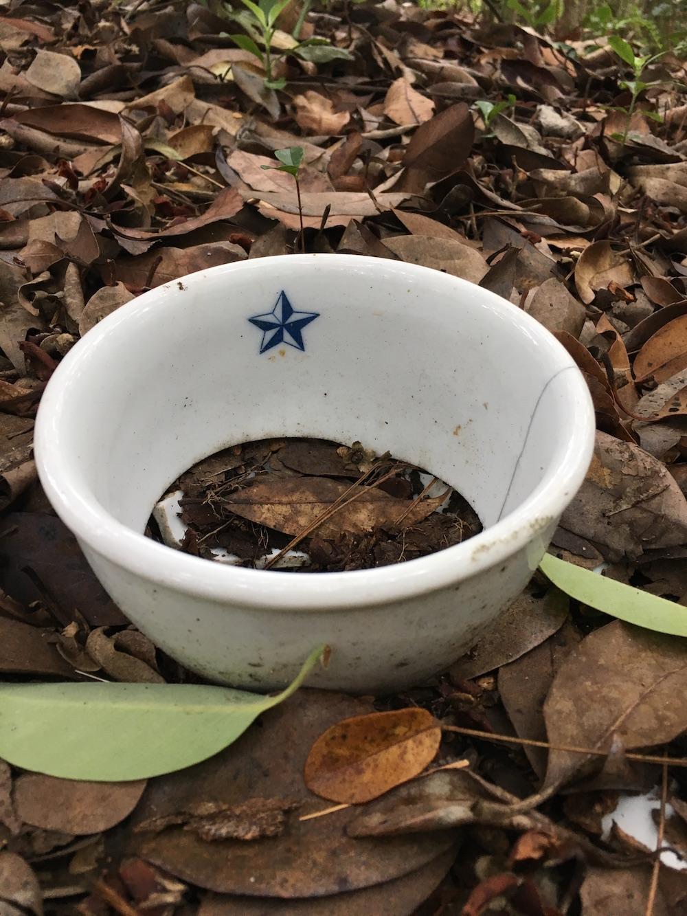 陸軍の茶碗